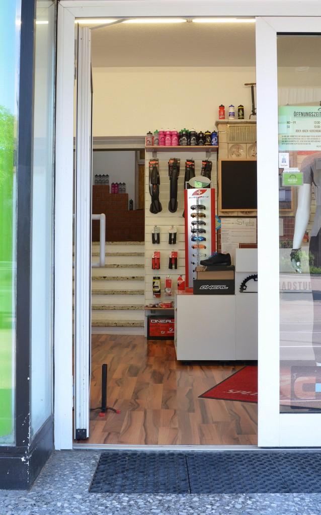 Laden Eingang