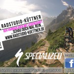 Matt Hunter mountain biking in Chamonix, France