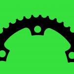 halbes kettenblatt-grün